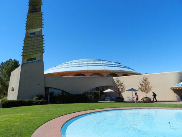 Marin Civic Center – Frank Lloyd Wright